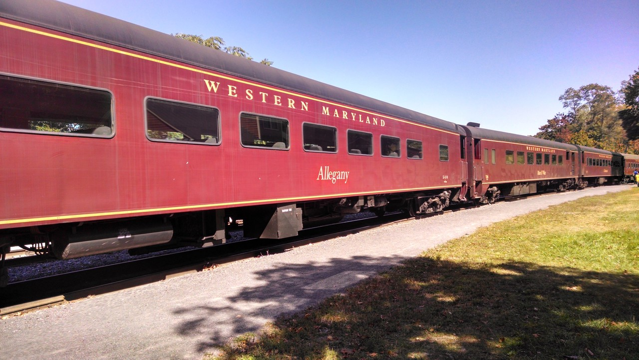 Western Maryland Scenic Railroad – a Review