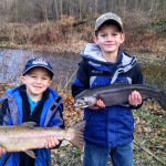 Boys with Steelhead