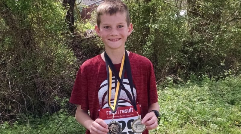 Landry Runs the Boston Trail Half Marathon – His First 13.1